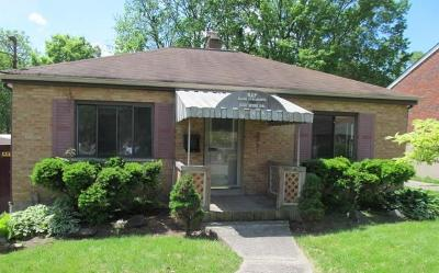 Cincinnati OH Single Family Home For Sale: $46,800