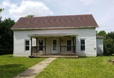 Brushcreek Twp OH Single Family Home For Sale: $47,500