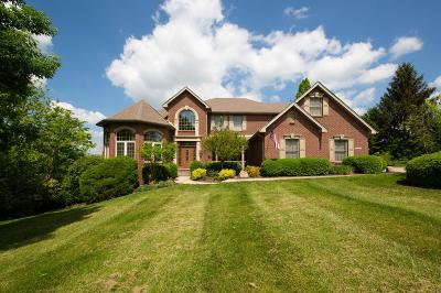 Greendale Single Family Home For Sale: 1323 Gleneagles Place