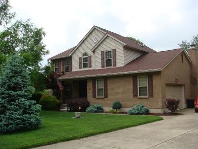 Butler County Single Family Home For Sale: 15 Lake Cumberland Drive