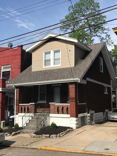 Cincinnati Single Family Home For Sale: 2355 Chickasaw Street