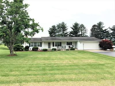 Highland County Single Family Home For Sale: 11020 St Rt 124