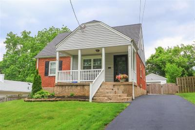 Cincinnati Single Family Home For Sale: 8572 Wicklow Avenue