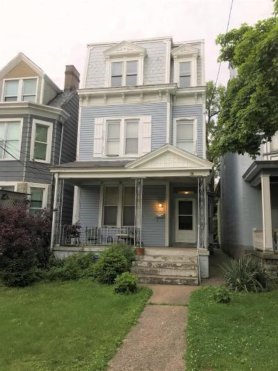 Cincinnati Single Family Home For Sale: 732 Hawthorne