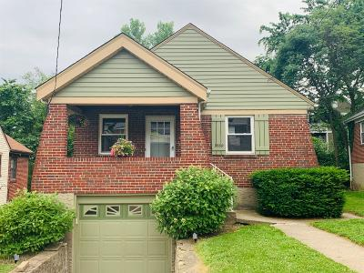 Cincinnati Single Family Home For Sale: 3559 Harrow Avenue