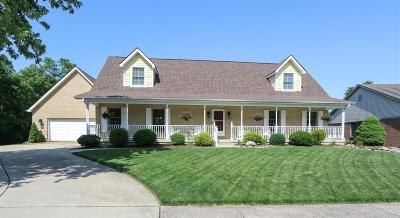 Miamisburg Single Family Home For Sale: 1390 Belvo Estates Drive