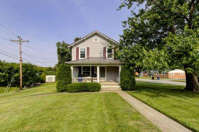 Adams County, Brown County, Clinton County, Highland County Single Family Home For Sale: 836 N Lincoln Street