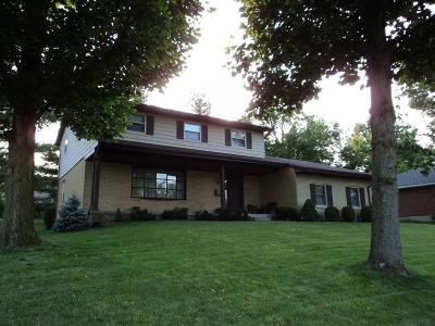 Hamilton Single Family Home For Sale: 521 Sanders Drive