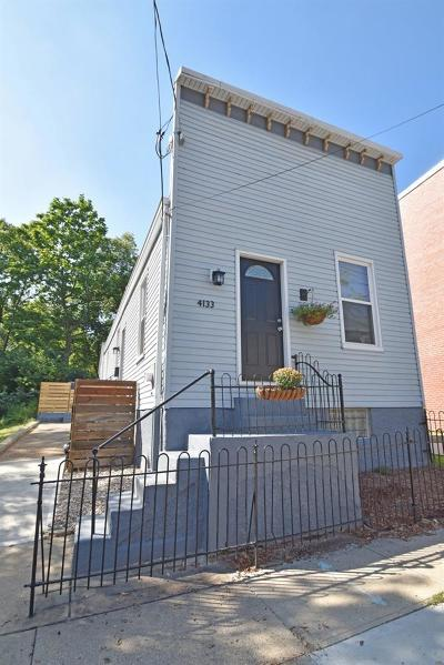 Cincinnati Single Family Home For Sale: 4133 Witler Street