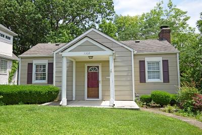 Cincinnati Single Family Home For Sale: 1332 Custer Street