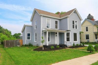 Blanchester OH Single Family Home For Sale: $159,900