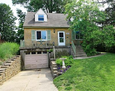 Cincinnati Single Family Home For Sale: 3053 S Hegry Circle