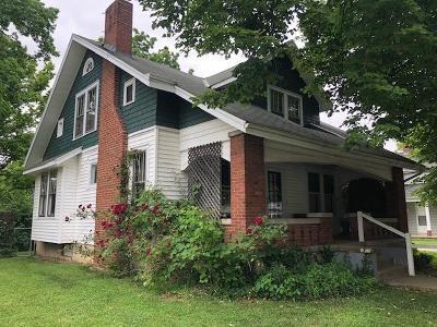 Oxford Single Family Home For Sale: 110 N Elm Street