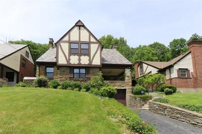 Cincinnati Single Family Home For Sale: 542 McAlpin Avenue