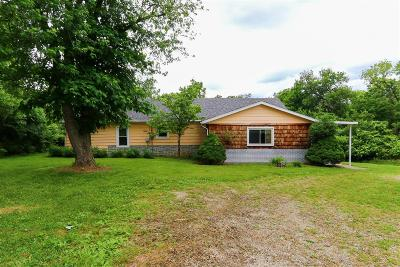 Hamilton County, Butler County, Warren County, Clermont County Single Family Home For Sale: 1544 Smith Road