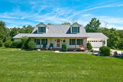 Adams County, Brown County, Clinton County, Highland County Single Family Home For Sale: 3717 St Rt 131