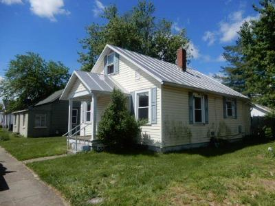 Wilmington OH Single Family Home For Sale: $59,900