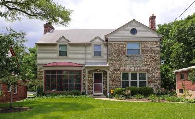 Cincinnati Single Family Home For Sale: 4507 Sunnyslope Terrace