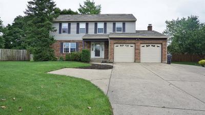 Cincinnati Single Family Home For Sale: 5555 Revmal Drive