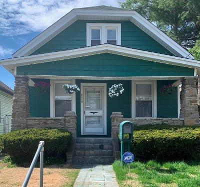 Cincinnati Single Family Home For Sale: 6805 Fairpark Avenue