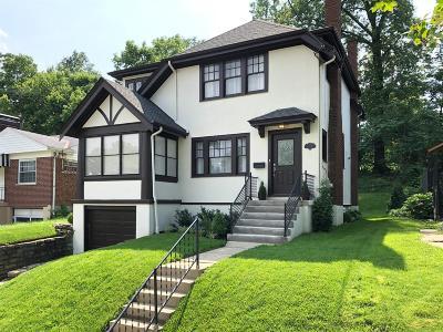 Cincinnati Single Family Home For Sale: 3447 Ault View Avenue