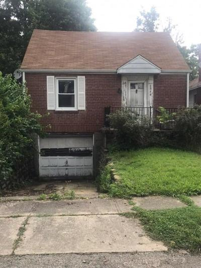 Cincinnati Single Family Home For Sale: 6844 Britton Avenue