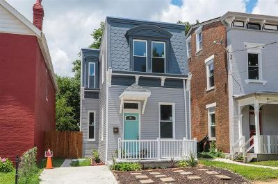 Cincinnati Single Family Home For Sale: 4237 Fergus Street