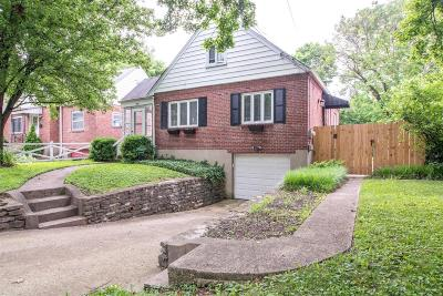 Cincinnati Single Family Home For Sale: 2481 Downing Drive