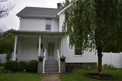 Adams County, Brown County, Clinton County, Highland County Single Family Home For Sale: 129 W Fancy Street