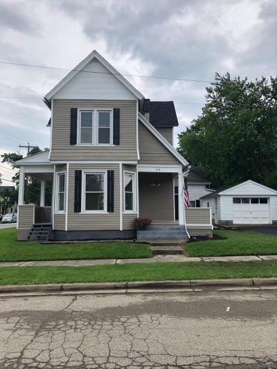 Adams County, Brown County, Clinton County, Highland County Single Family Home For Sale: 114 N Wright Street
