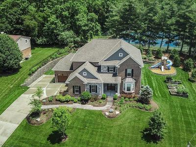 Single Family Home For Sale: 10550 Deerfield Road