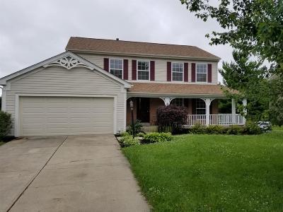 Single Family Home For Sale: 9933 Cedar Knoll