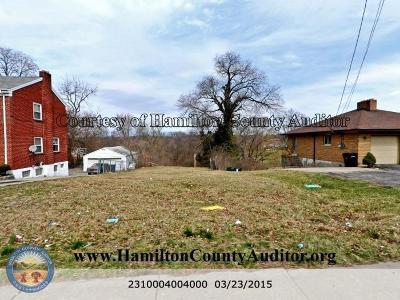 Colerain Twp Residential Lots & Land For Sale: 5604 Colerain Avenue