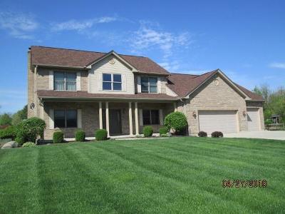 Harrison, Lawrenceburg Single Family Home For Sale: 11693 Hawk Drive