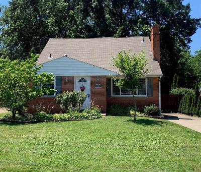 Single Family Home For Sale: 1343 Brooke Avenue