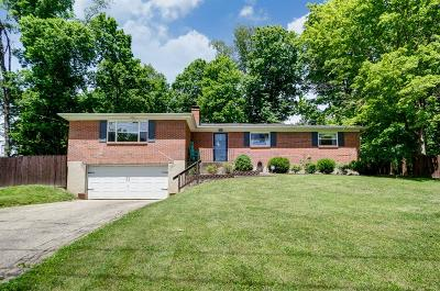 Single Family Home For Sale: 710 Milford Hills Drive