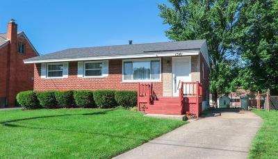 Single Family Home For Sale: 1541 Montegor Drive