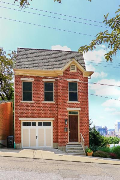Cincinnati Single Family Home For Sale: 421 Boal Street