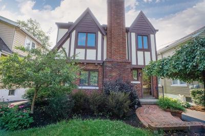Cincinnati Single Family Home For Sale: 3466 Ault View Avenue