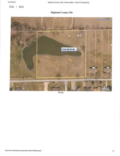 Highland County Residential Lots & Land For Sale: 324 North Avenue