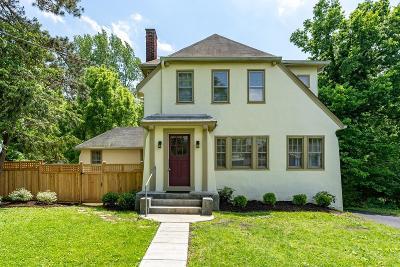 Cincinnati Single Family Home For Sale: 203 Wedgewood Avenue
