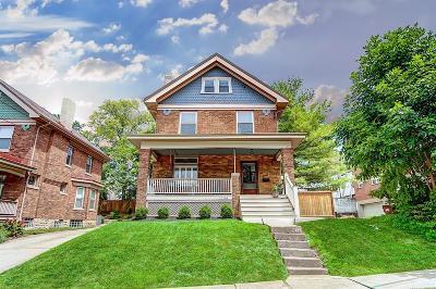 Cincinnati Single Family Home For Sale: 1344 Fleming Street