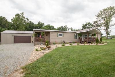 Highland County Single Family Home For Sale: 3815 Pleasant Road