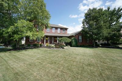 Single Family Home For Sale: 5802 Franklin Trail
