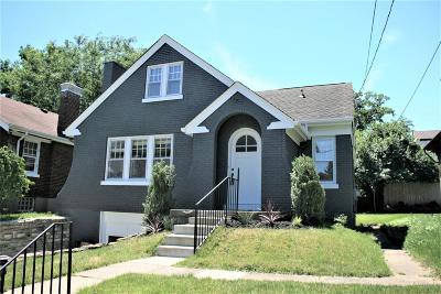 Cincinnati Single Family Home For Sale: 3331 Claramont Avenue