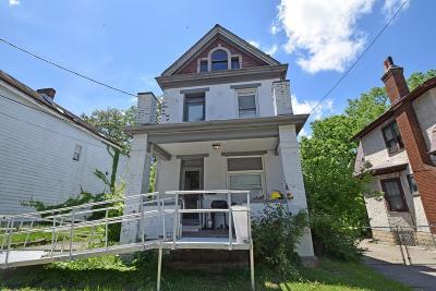 Cincinnati OH Single Family Home For Sale: $50,000