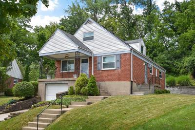 Cincinnati Single Family Home For Sale: 2847 Pineridge Avenue