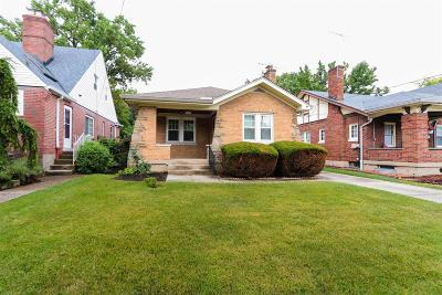 Cincinnati Single Family Home For Sale: 3358 Hanna Avenue