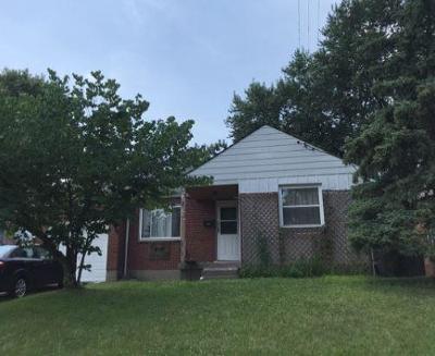 Cincinnati OH Single Family Home For Auction: $87,000