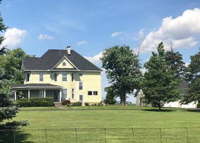 Clinton County Single Family Home For Sale: 4400 Prairie Road